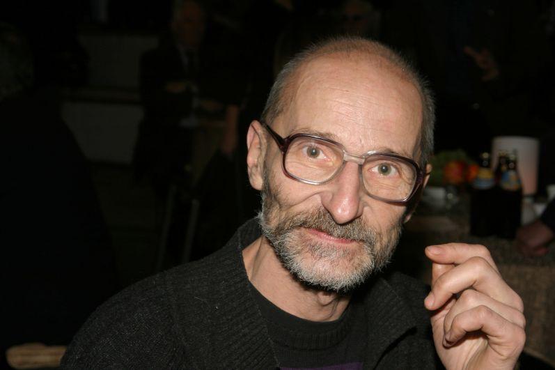 Пётр Мамонов на церемонии вручения премии имени В. Высоцкого, 2007 год