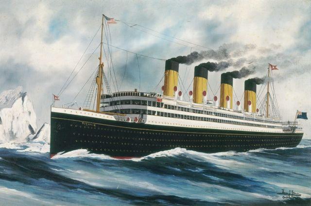 Корабль «Титаник».