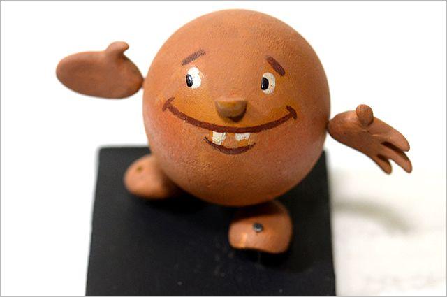 Кукла «Колобок» 1956 года выпуска — экспонат Музея киностудии «Союзмультфильм».