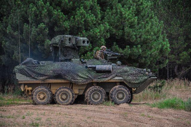 США проводят испытания новой противотанковой техники в Украине