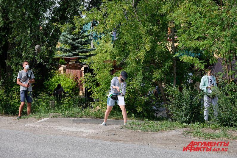 Съёмки фильма «Многотрудная жизнь Ивана Семёнова» в Перми.