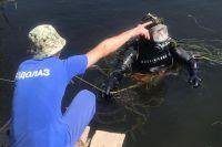 Водолазы АСС Оренбуржья ищут в реке Урал тело утонувшей.