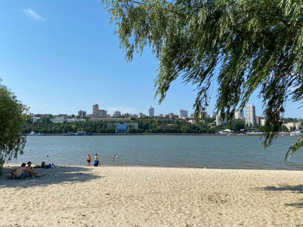 Один из четырёх открытых пляжей Ростова – пляж «Левобережный».