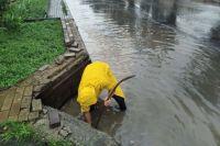 В Одессе некоторые улицы затоплены из-за дождей