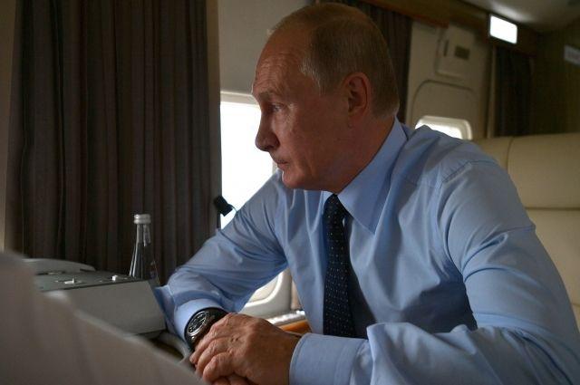 6 июля президент прилетает в Кемерово на празднование 300-летнего юбилея Кузбасса.