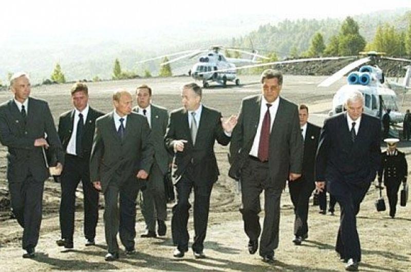 В 2002 г. на шахте «Распадской» в Междуреченске.