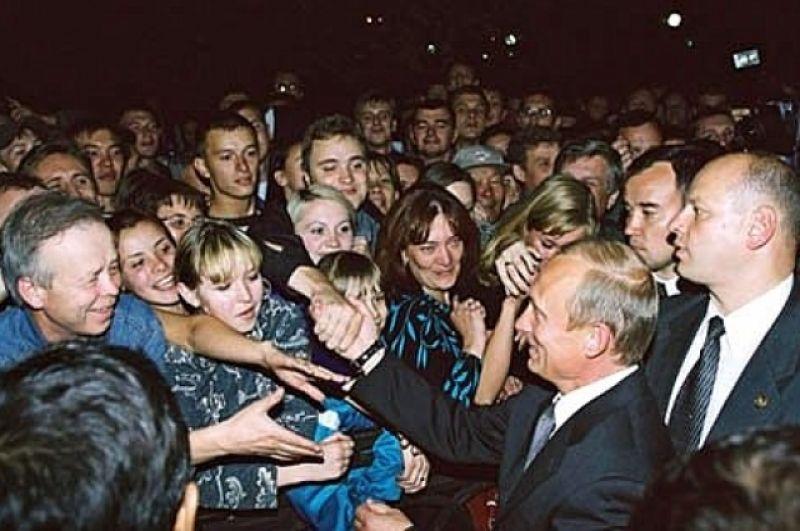 2002 год – с жителями Новокузнецка.