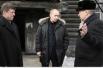 12 марта 2009 г. премьер-министр в Новокузнецке, возле ветхого барака постройки 40-х годов.