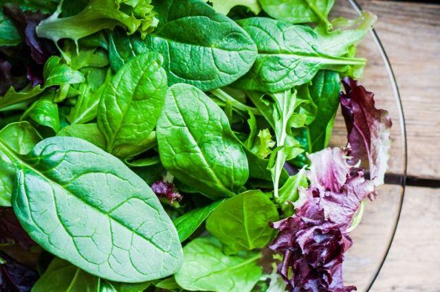 К 2030 году сторонники здорового питания будут съедать до 11 кг зелени и салатов в год.