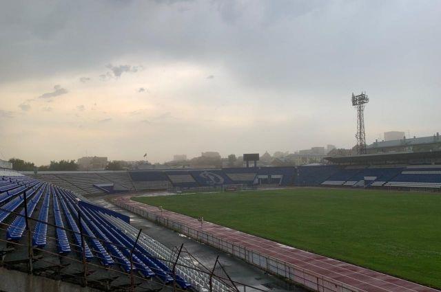Гроза в Барнауле.