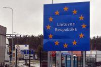 Пропускной пункт на белорусско-литовской границе.