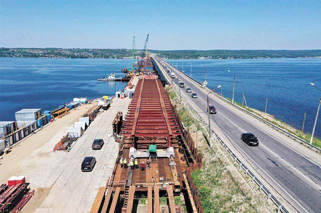 Запустить движение по мосту через р. Чусовую планируют уже в 2022 г.