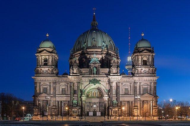 Берлинский кафедральный собор.
