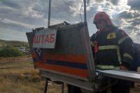 Крупный степной пожар под Медногорском удалось локализовать вечером 6 июля.