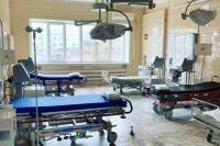 Коечных фонд в ковидных госпиталях заполнен на 85%.