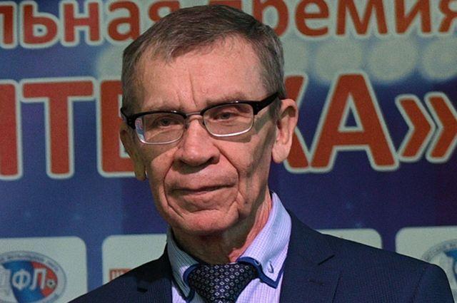 Глава Детской лиги (ДФЛ) Виктор Горлов, 2018 г.