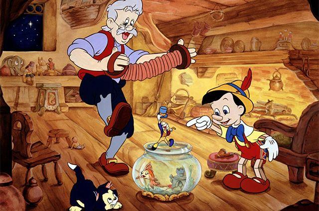 «Пиноккио», мультфильм 1940 г.