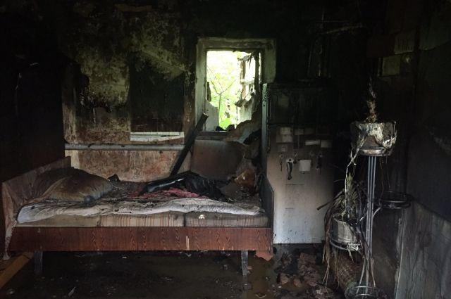 В селе Беляевка на пожаре погиб  61-летний мужчина.