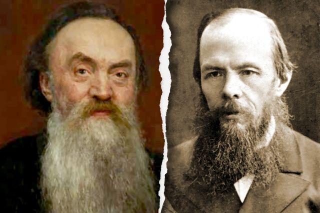 Достоевский высоко оценил рецензию Николая Страхова (слева), сказав: «Вы один меня поняли».