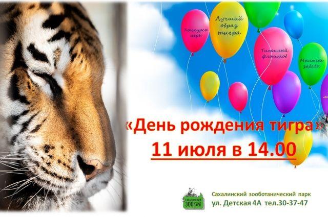 Гостей приглашают прийти в образе тигра (костюмах, аквагриме), стать участниками тигриного флешмоба и побороться за приз на лучший костюм.
