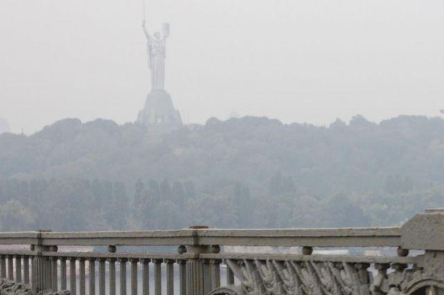 В Киеве зафиксировано загрязнение воздуха