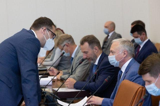 63-е заседание депутатов ЗС Красноярского края.