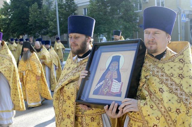 Икона священномученика Никодима.