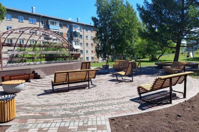 С начала юбилейного года в Кузбассе уже отремонтировали 39 общественных пространств и 89 дворов.