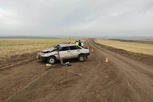 ДТП случилось в районе села Тасбулак.