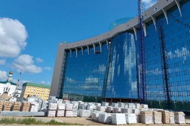 Центральная окружная больница на 1100 коек в Нижневартовске