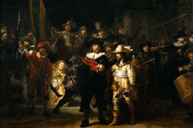 «Ночной дозор» (1642) Рембрандт.