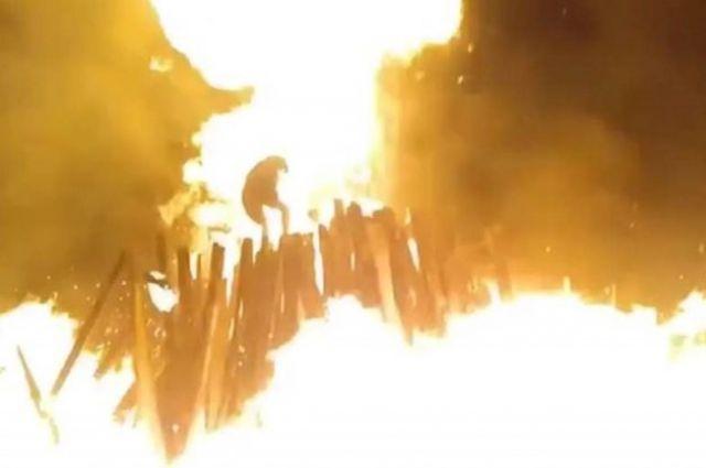 В Житомирской области на праздновании Ивана Купалы произошел взрыв