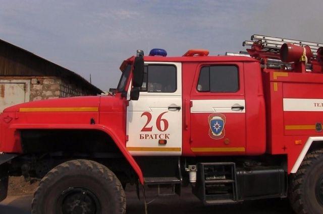 Треть пожаров происходят в сельской местности.