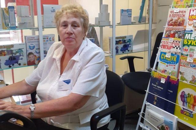 Любовь Павловна Подзолкова проработала в сфере почтовой связи более 50 лет
