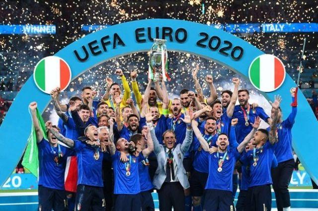 Сборная Италии стала чемпионом Европы.