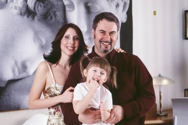 Ирина и Валерий Меладзе с дочерью Софией.