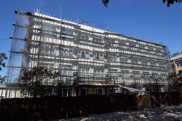 В здание на Карла Маркса, 51А Детская школа искусств №2 переехала в 2019 году.