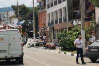 Сейчас в Геленджике ликвидируют последствия взрыва.