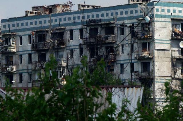 На ул. Взлётной в Киевском районе Донецка никто не живёт с мая 2014 г., когда территорию находящегося рядом аэропорта атаковали ВС Украины.