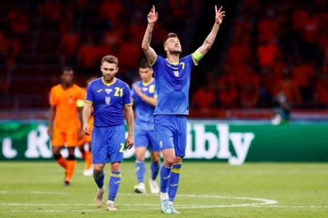 Гол Ярмоленко вошел в десятку лучших на Евро-2020