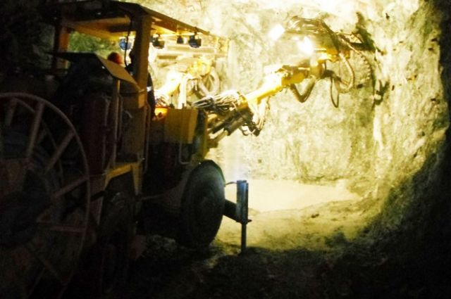 Рудник «Юбилейный» в Хайбуллинском районе