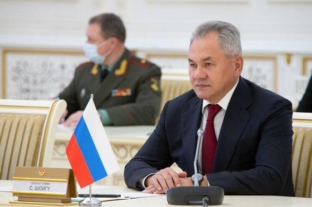 Шойгу прибыл в Ростов-на-Дону для проверки воинских частей