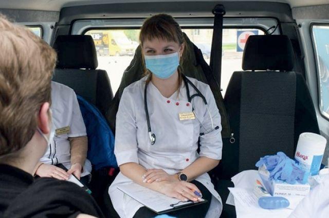 В Смоленске продлят время работы мобильных пунктов вакцинации.