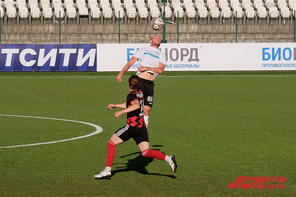 Футбольный матч «Амкар Пермь» – «Тюмень» в Перми.