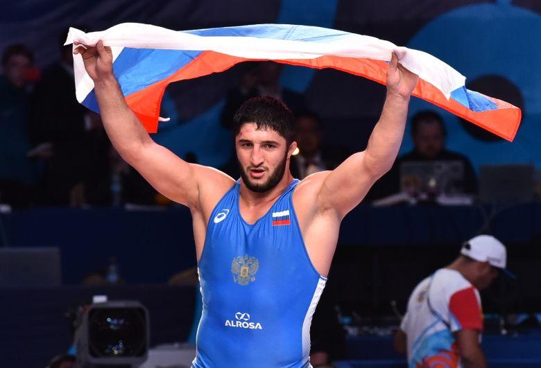 Борец вольного стиля Абдулрашид Садулаев