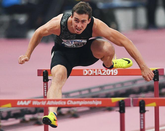 Легкоатлет Сергей Шубенков, специализируется в беге на 60 и 110 метров с барьерами