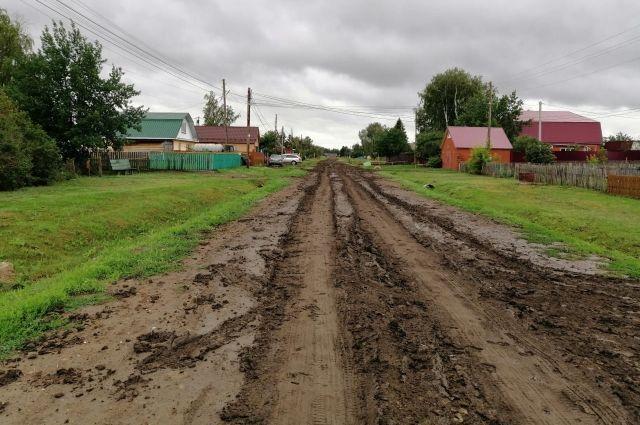 Дорогу никогда не ремонтировали.