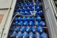 В стационаре есть аварийный запас кислорода в баллонах на непредвиденные случаи.