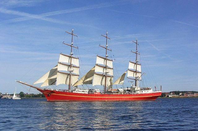 Учебный фрегат «Херсонес».