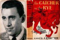 Обложка первого издания роман «Над пропастью во ржи».